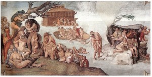 Noah's-Ark-floats-Chapelle-Sistine